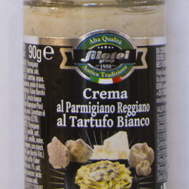 Crema al parmigiano reggiano al tartufo bianco